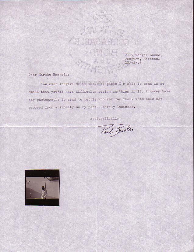 Paul Bowles - The Pool K III